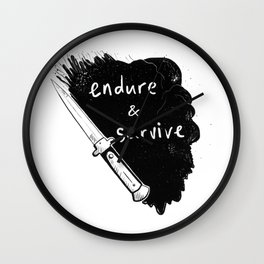 Endure and Survive Wall Clock