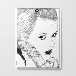 asc 525 - La langue du diable (My devil's tongue) Metal Print