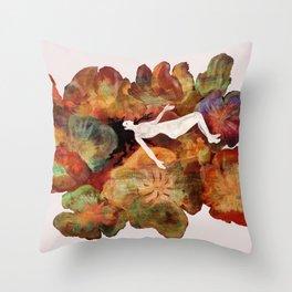 Rusalka Throw Pillow