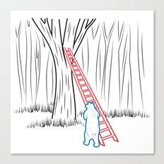 DA BEARS - CLIMBING Canvas Print