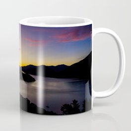 double bay sunset oceanview mountains Coffee Mug
