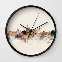 jackson skyline Wall Clock