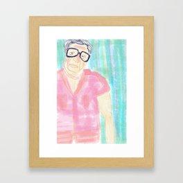 Oh Morty! Framed Art Print