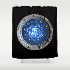 Gate of the Gods Shower Curtain