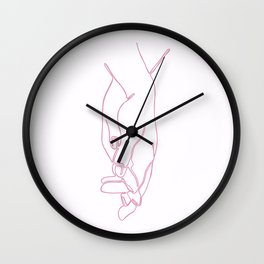 Entwine Wall Clock