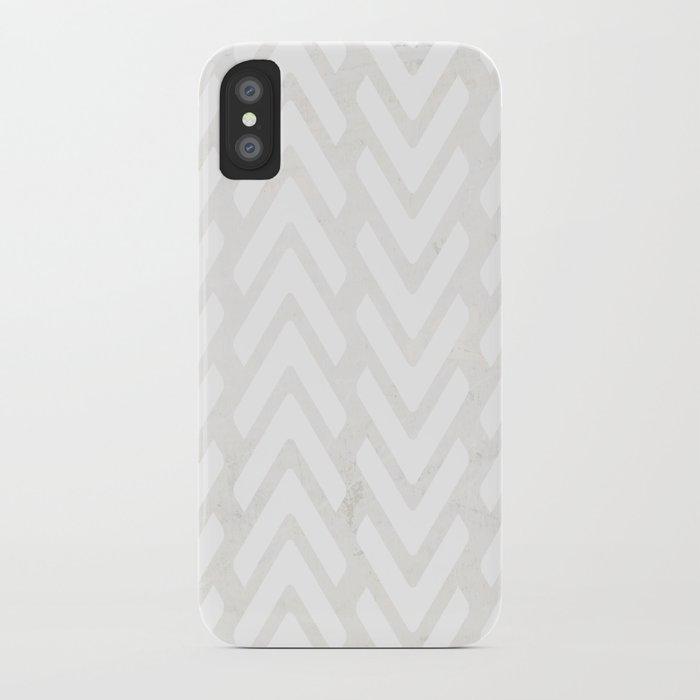 Chevron Tracks iPhone Case