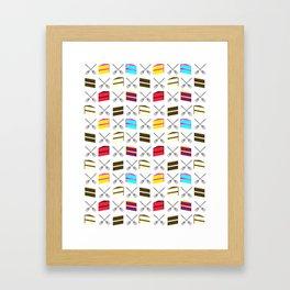 Cake Cake Cake!!! Framed Art Print