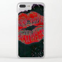 Lipstick Clear iPhone Case
