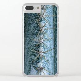 Cactus 05 Clear iPhone Case