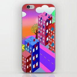 Abstract Urban By Day iPhone Skin