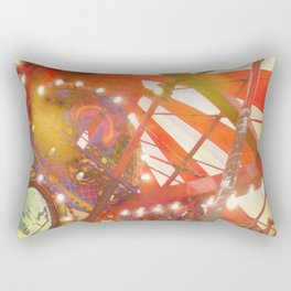 Spinning and Dreaming Rectangular Pillow