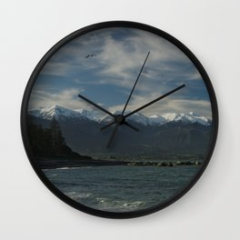 afternoon in kaikoura Wall Clock