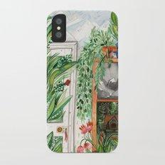 The Jungle Room iPhone X Slim Case