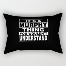 MURPHY Surname Personalized Gift Rectangular Pillow