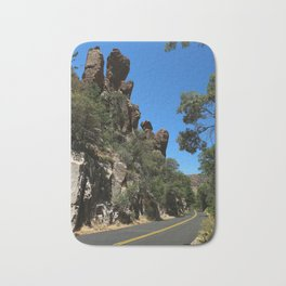 Scenic Bonita Canyon Road Bath Mat