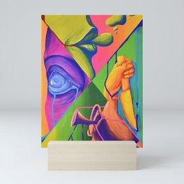 Hear no evil, speak no evil, see no evil, and do no evil Mini Art Print