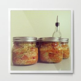Kimchi Metal Print