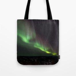 Northern Green Light Tote Bag