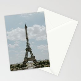 France Photography - The Eiffel Tower In The Summer Stationery Cards