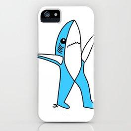 Left Shark - K aty Perry Super Bowl Shark iPhone Case