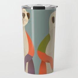 Meerkats Travel Mug