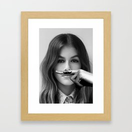 Life Is A Joke Framed Art Print