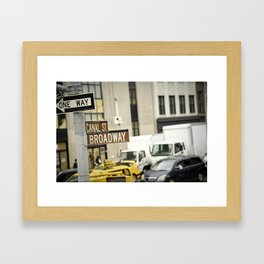 Standing at the Crossroads Framed Art Print