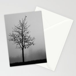Foggy Silhouettes. Stationery Cards