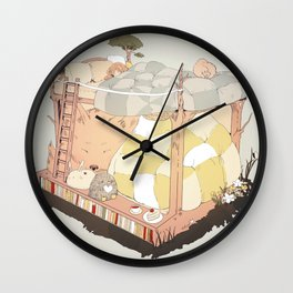 roommates. Wall Clock
