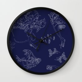 Foraged Works Wall Clock