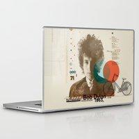 bob dylan Laptop & iPad Skins featuring Bob Dylan by Azlif