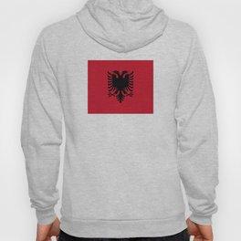 flag of Albania Hoody