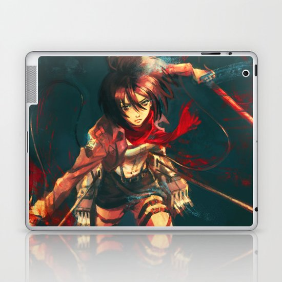Worth a Hundred Soldiers Laptop & iPad Skin