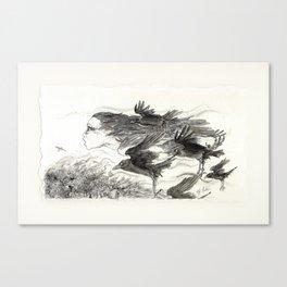 The Morrigan Canvas Print