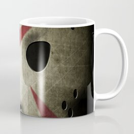 Slasher Hockey Mask Coffee Mug