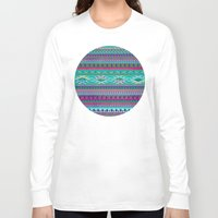 blankets Long Sleeve T-shirts featuring HURIT by Nika