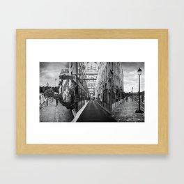 Im/possible Paris Framed Art Print