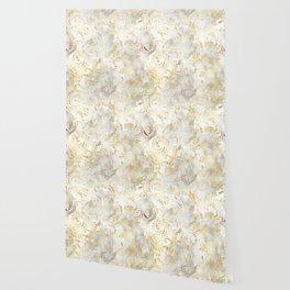 Elegant Gold swirls Wallpaper