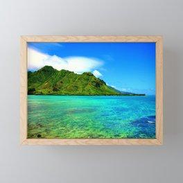 Kahana Bay ... By LadyShalene Framed Mini Art Print