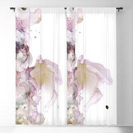lavender dreams 2 - alcohol ink Blackout Curtain