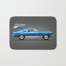The Shelby Mustang GT500 Bath Mat