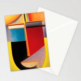 Alexej von Jawlensky - Abstrakter Kopf Sonne, Farbe, Leben - Abstract Head Sun, Color, Life Stationery Cards