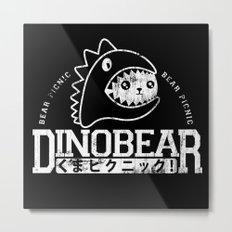 Vintage Dinobear Metal Print
