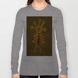 Shaman Painting Long Sleeve T-shirt