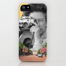 Her Majesty Queen Elizabeth II iPhone Case