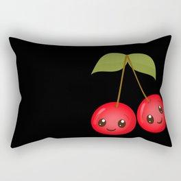 Cute Cherries Rectangular Pillow