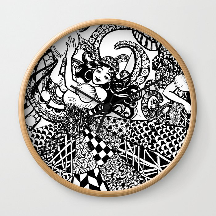 Traveler Dancers Wall Clock