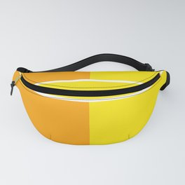 Team Colors 6...yellow,orange Fanny Pack