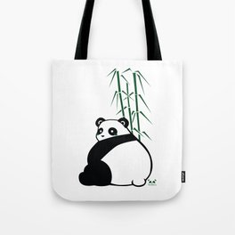 Big Butt Panda Tote Bag