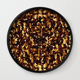Mosaic Texture G37 Wall Clock
